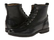 New in Box Womens Frye Phillip Work Boot Black Soft Vintage Leather Size 7 $ 298