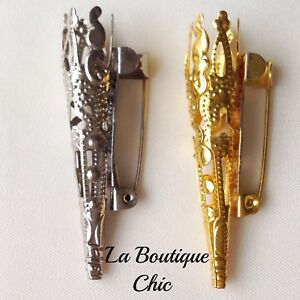 GROOM'S/GENTS LAPEL PIN BROOCH VASE WEDDING CORSAGE BUTTONHOLE TUSSIE MUSSIE