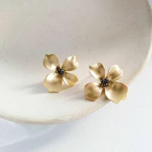 Elegant 925 Silver,Gold,Flower origami Crane Earrings for Women Jewelry Pair/set