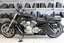 Harley V-ROD MUSCLE LEFT Side BLACK SOLO BAG Saddlebag - VRL04 BAD&G CustomS