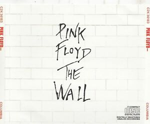 Pink Floyd - The Wall  2 CD 1990  C2K 36183 COLUMBIA JAPAN EARLY PRESS