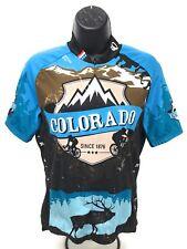 Cycling Jersey IO Pearl Izumi S Women s Colorado Rocky Mountains Elk Blue 218836750