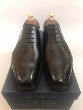 FREE P&P alfred sargent wholecut in black with a leather sole SIZE 8 only