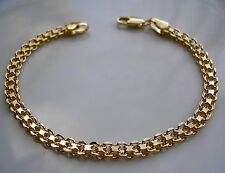 STAMPED GENUINE 9CT GOLD FILLED BRACELET ALMOST SOLD OUT AT THIS PRICE 0021