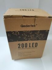 Qedertek 200 ct. Solar LED Lights