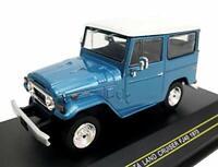 FIRST:43 1/43 Toyota LAND CRUISER FJ40 1973 Blue F43-144 w/ Tracking NEW