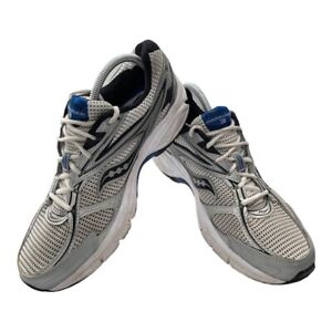 Saucony Grid Marauder 3 Mens Sz 9.5 Blue Silver Athletic Running Shoes Sneakers