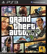 Used PS3 Grand Theft Auto V  GTA  SONY PLAYSTATION 3 JAPAN JAPANESE IMPORT