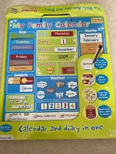 Magnetic Calender For Kids Educational Inc. Planner, Season, Weather Section
