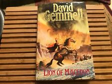 LION OF MACEDON, David Gemmell (1990), UK, First Edition, First Printing