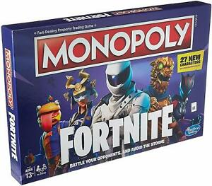 Monopoly FORTNITE 2019 (27 New Characters and Board Spec) Brand New Sealed