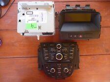 VAUXHALL ASTRA J Radio Cd Player 400 22836293 Control Part CLIMATE Piece Display
