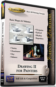 Johnnie Liliedahl: Drawing 2 for Painters - Art Instruction DVD