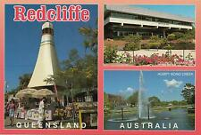 REDCLIFFE QUEENSLAND POSTCARD -  REDCLIFFE, HUMPY BONG, COUNCIL CHAMBERS QLD PC