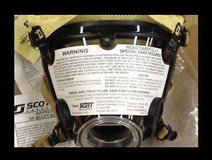 NEW Scott AV2000 AV-2000 KevlarHarness Firefighter SCBA Mask Facepiece Large