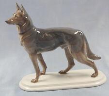 schäferhund Figur Fraureuth Porzellanfigur Hundefigur hund porzellan 1930