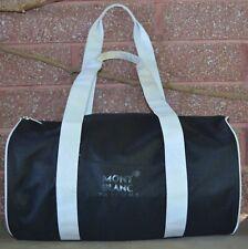 MontBlanc Parfums Black & White Travel Duffel Bag Weekender Carry All BAG