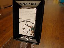 BOY SCOUTS BSA SPORTING CLAYS 2011 CHAMPION ZIPPO LIGHTER ALLEGHENY HIGHLANDS