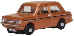 Oxford Diecast Hillman Imp Tangerine Die Cast Model 1:148 Scale N Gauge New