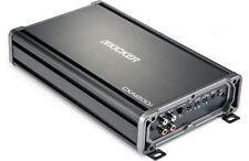 Kicker 43CXA12001 Car Mono Amp 2400-Watt Class D 43CXA1200.1 Monoblock Amplifier