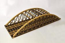 LASER CUT DOUBLE TRACK BOWSTRING BRIDGE N SCALE 1:148 MODEL RAILWAY - LX076-N