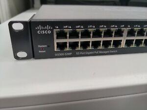 Cisco SG300-52MP 52 Port PoE+ Managed Switch