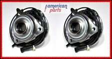 SET 2x FRONT WHEEL HUB BEARING LEFT + RIGHT JEEP LIBERTY 2002-2007 WITH ABS