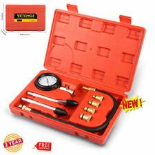 Engine Cylinder Compression Tester Kit Auto Car Vehicle Gauge Tool Tester US