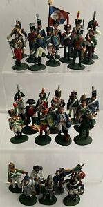 31 X Del Prado Napoleonic French  Soldiers  Figures  & Others Circa 1800's