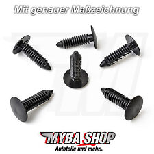 20x tannenbaumclip fijación clip Vauxhall Opel ford chrysler bmw KLIPS #neu #