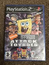 PlayStation 2: Spongebob & Friends Attack Of The Toybots (Mint Sealed Condition)