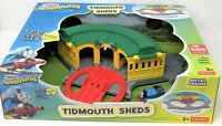Thomas and Friends Adventures Tidmouth Sheds with Turntable + Engine Playset Toy
