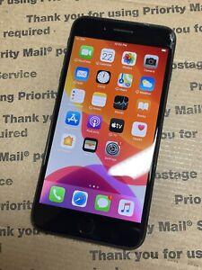 Apple iPhone 7 Plus 128GB Black (Unlocked) A1661 Smartphone *Cracked Screen*