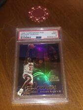 Michael Jordan 1996 Flair Showcase Row 2 Card PSA 9 MINT