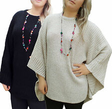 Acrylic Patternless Jumpers & Cardigans for Women