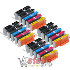 KIT 20 CARTUCCE COMPATIBILI XL PER CANON PIXMA MG 5750 5751 5752 5753 6850 6851