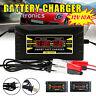 Car Battery Charger 12V 6A 10A Intelligent Full Automatic Auto Smart Fast hot UK