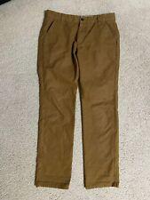 APOLIS Global Citizen Utility Chino Cotton Men's Pants 30 x 30 Tan Brown Khaki's