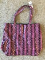 SAKS FIFTH AVENUE TOTE BAG NEW Faux Leather Snake print Colors Pink