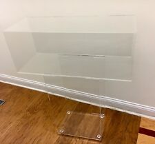 """Clear Acrylic Pedestal  Stand  32"""" High X 30"""" Wide"""