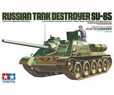 Tamiya 1 :3 5 II Guerra Mundial Ruso Jagdpanzer SU-85 Kit Construcción 35072