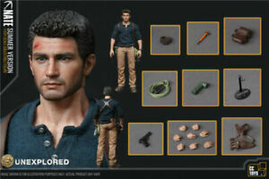 "CCTOYS 1/6th Uncharted Nate Nathan Drake 12"" Action Figure Set Model Summer Ver."