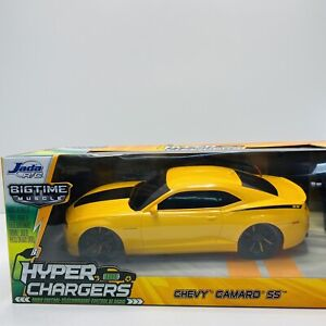 Chevy Camaro SS Jada R/C Hyper Chargers Remote Control Car New in Box RARE 84210