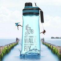 Sport Water Bottle Free Leak Cycling Bpa Sports Bike Outdoor Travel Flip Fly Cup