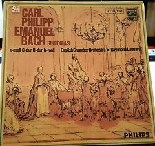 Philips Stereo SAL3689 Bach Sinfonias...Emanuel New sealed Mint Classical