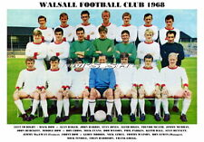 WALSALL F.C. TEAM PRINT 1968