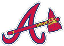 Atlanta Braves Sticker/Decal 3x4 Free Shipping Baseball, MLB p102