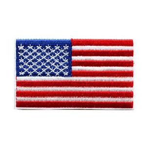 USA Washington Amerika America Flag US Flagge Patch Aufnäher Aufbügler 0069