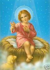 Catholic Print Picture Sweet Baby Jesus Christmas - ready to be framed
