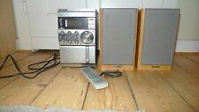 Kenwood RXD M-57MP Mini Stereoanlage Kompakt und 2x Lautsprecherbox und Fernbed.